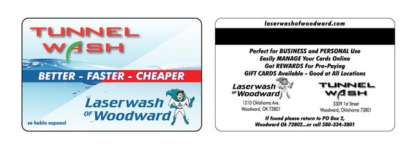 LaserWashCard